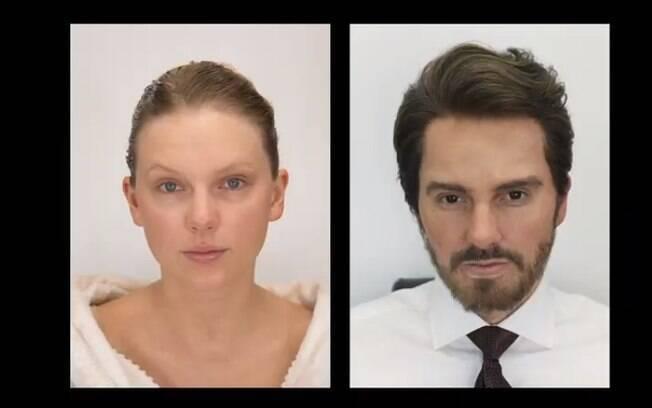 Antes e depois de Taylor Swift