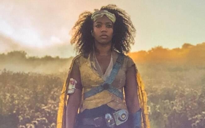 Naomi Achie como Jannah em Star Wars - A Ascensão Skywalker