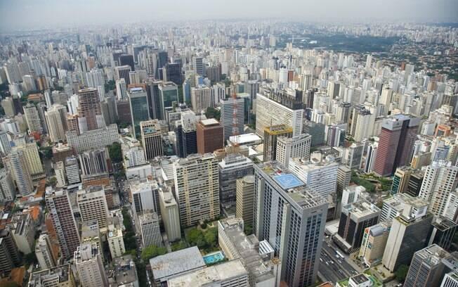 Edifícios dominam paisagem da capital paulista
