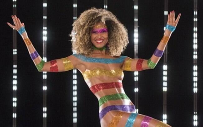Erika Moura é a nova Globeleza. Nas vinhetas, ela representa a cultura do Carnaval brasileiro