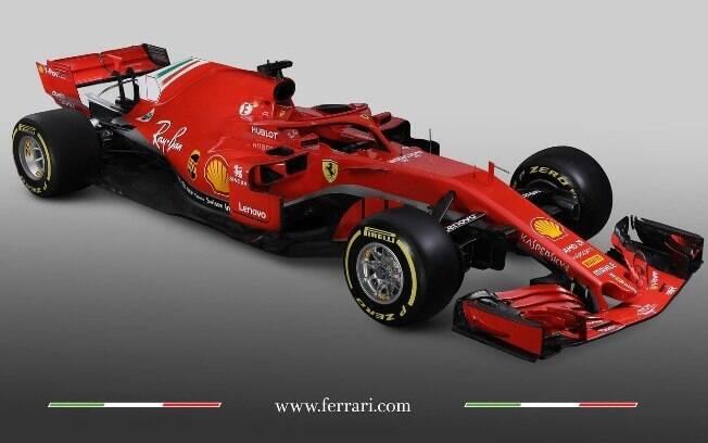 Ferrari apresenta carro para a temporada 2018 da Fórmula 1