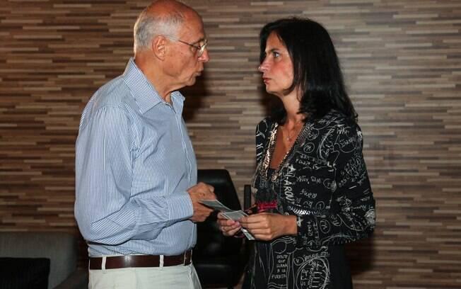 Eduardo Suplicy e a namorada, Mônica Dallari