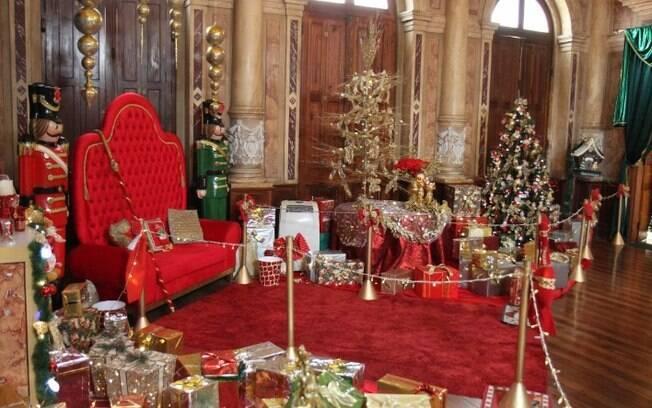 Palácio do Papai Noel é suspenso por conta da pandemia de covid-19