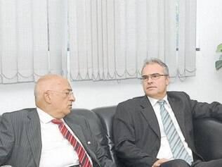 O vice-presidente da Sempre Editora, Luiz Tito, recebeu na sede da empresa, no último dia 21, a visita do procurador geral da Justiça de Minas Gerais, Carlos André Mariani Bittencourt.