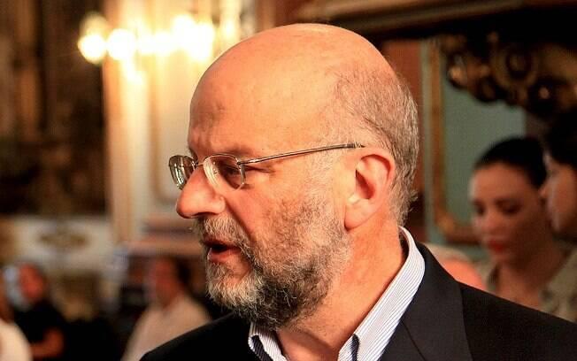 João Sayad (D) e Dom Odilo Scherer