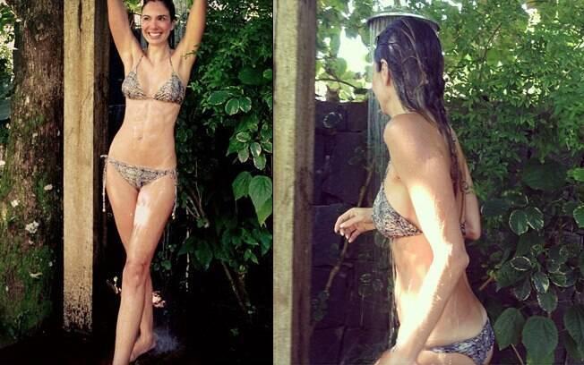 Luciana Gimenez: silhueta impecável