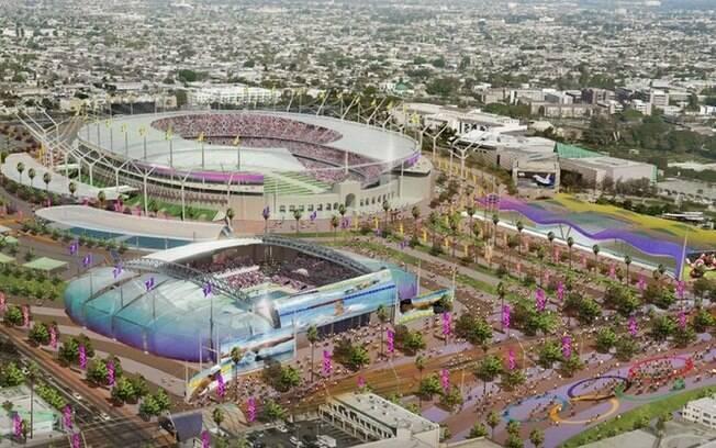 Projeto da cidade de Los Angeles para os Jogos de 2024