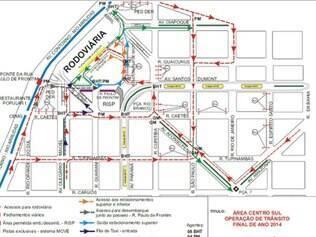 Veja o mapa com as alterações que serão feitas
