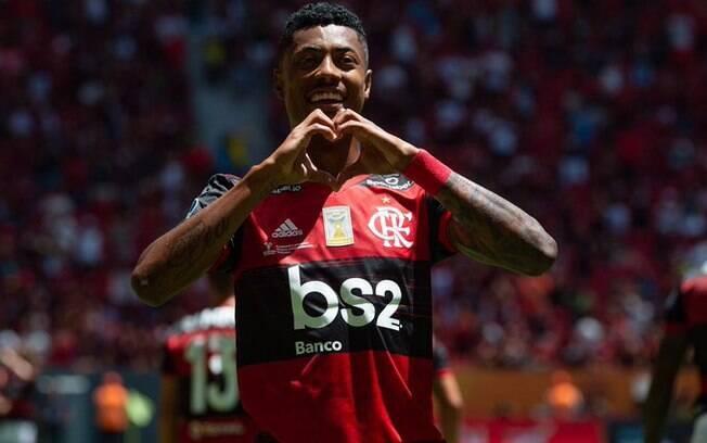 Bruno Henrique é um dos destaques do Flamengo
