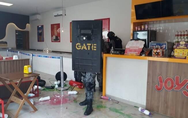 Policiais do GATE conseguiram dissuadir criminoso que fez mulher refém em Ibiúna (SP)