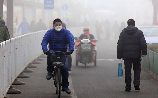 Exposição ao ar poluído compromete a saúde, ocasionando doenças respiratórias