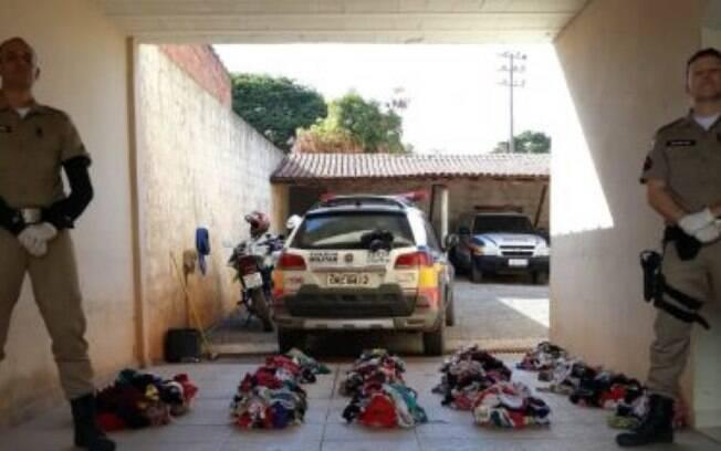 Homem foi preso com aproximadamente 1.045 peças em sua casa.