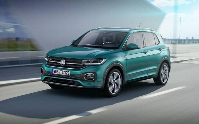 O VW T-Cross virá em uma categoria de volume no mercado automotivo. Chega às lojas ainda no primeiro semestre