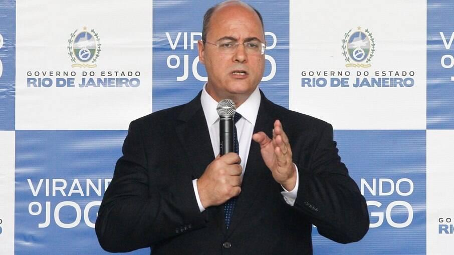 Wilson Witzel (PSC), governador afastado do Rio de Janeiro