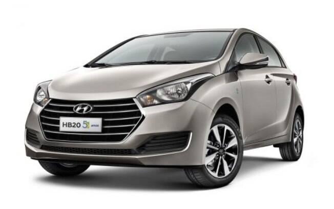 Hyundai HB20 5 Anos vem com itens exclusivos na série especial, como os emblemas nos para-choques dianteiros