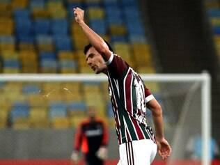 Wagner possui contrato com o Fluminense até o fim de 2015