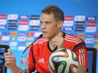 O goleiro Neuer, da Alemanha é um dos arqueiros que está fazendo sucesso nessa Copa