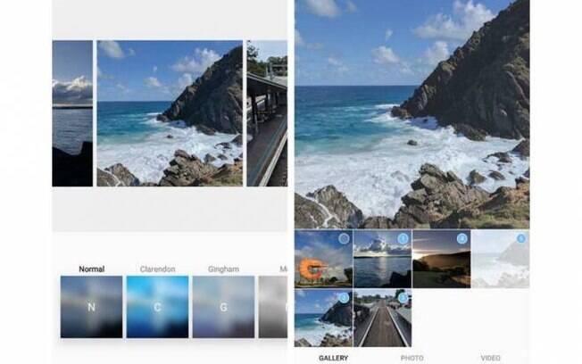 A possibilidade de publicar galeria de fotos pode chegar em breve para os usuários do Instagram em Android e iOS