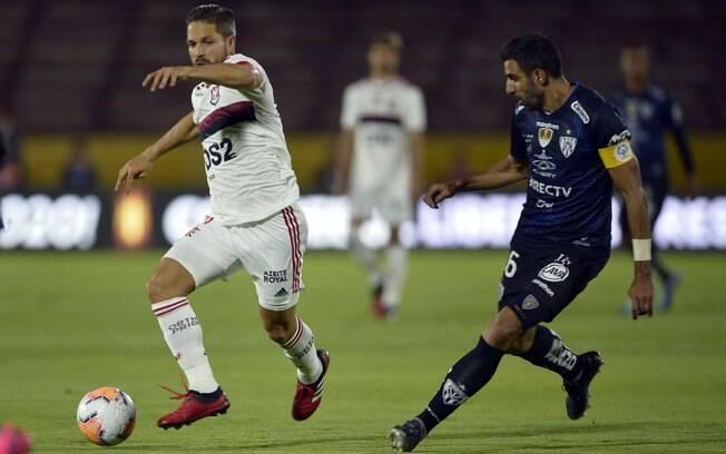 Flamengo e Del Valle empatam em 2 a 2 na ida da Recopa
