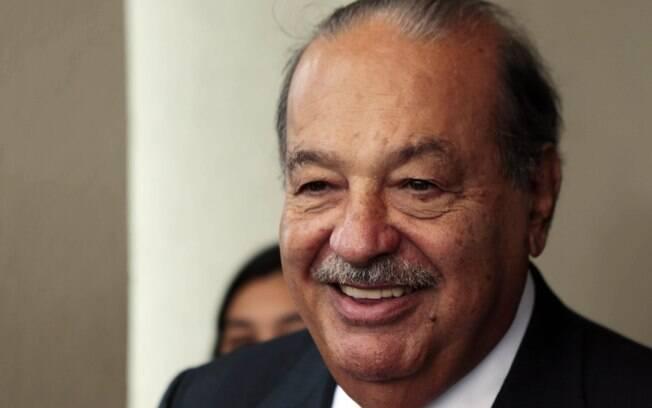 Dono de uma fortuna de US$ 66,9 bilhões, o mexicano Carlos Slim vendia doces para os primos quando tinha 15 anos de idade, trabalhando na loja do pai desde os 8.. Foto: Reuters