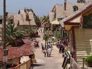 A Villa do marinheiro Popeye nasceu do set de filmagem feito para o longa-metragem de Hollywood