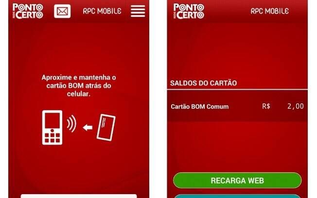 Cartão BOM já possui recarga e consulta de saldo pelo celular. Aplicativo é gratuito e possui apenas versão para Android. Smartphone precisa ter NFC para o app funcionar