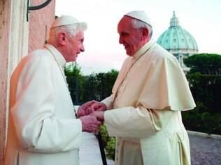Amizade.Papa emérito, Bento XVI foi convidado especialmente por papa Francisco para canonização