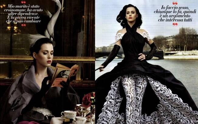 Katy Perry em pontos turísticos da França