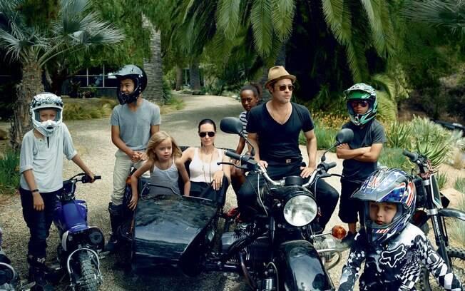 Brad Pitt e Angelina Jolie estão curtindo férias com a família na Tailândia