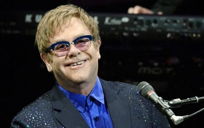 Elton John: esportes na TV e camarins supergelados no Brasil