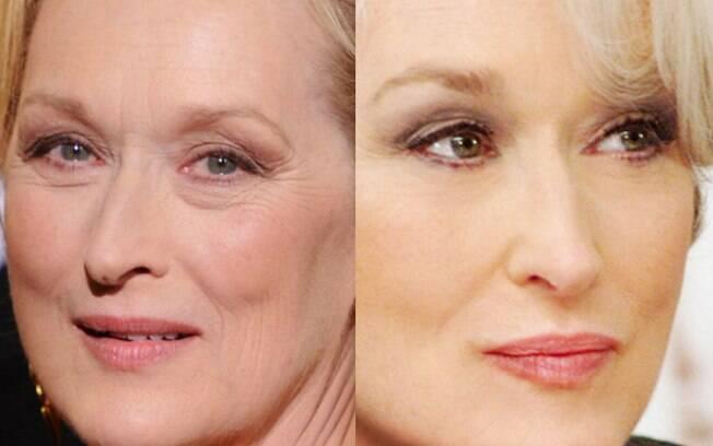 Uso de iluminador pode ser usado para amenizar a aparência das linhas de expressão e os vincos da pele madura