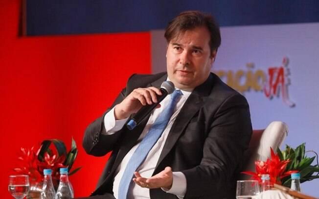 Presidente da Câmara Rodrigo Maia participa do Encontro Anual Educação Já