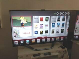 Nova TV da LG vem com controle remoto que inclui funções de mouse e de reconhecimento de voz e gestos