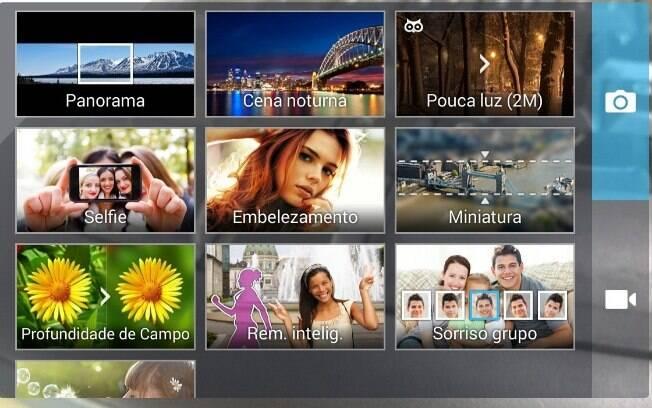 Aplicativo de fotos versátil é ponto positivo do Zenfone 5