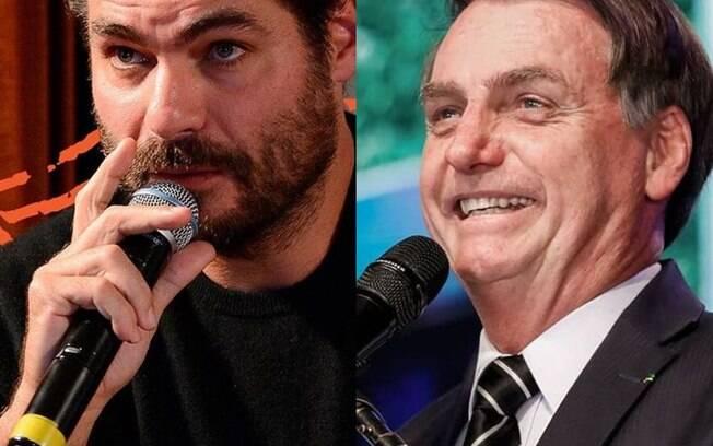 Thiago Lacerda comparado Bolsonaro com Adolf Hitler