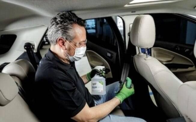 Higienização da Hyundai com ozônio e uma série de procedimentos para sanitização da parte interna dos veículos começa a ser oferecida