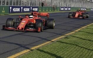 Ferrari explica ordem para Leclerc não ultrapassar Vettel na Austrália