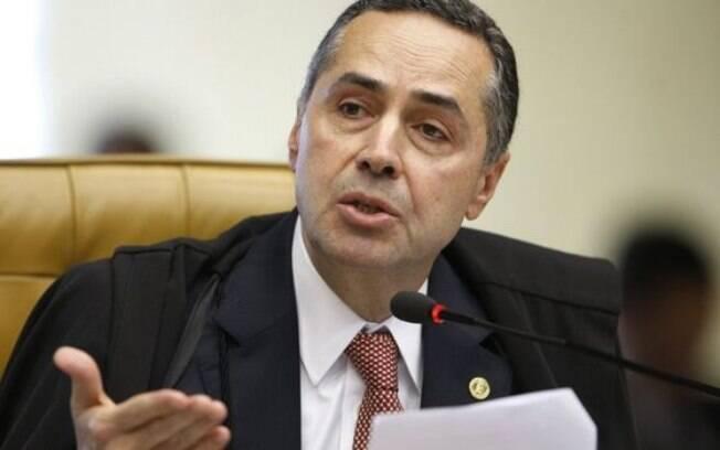 Ministro do STF e presidente do TSE Luís Roberto Barroso