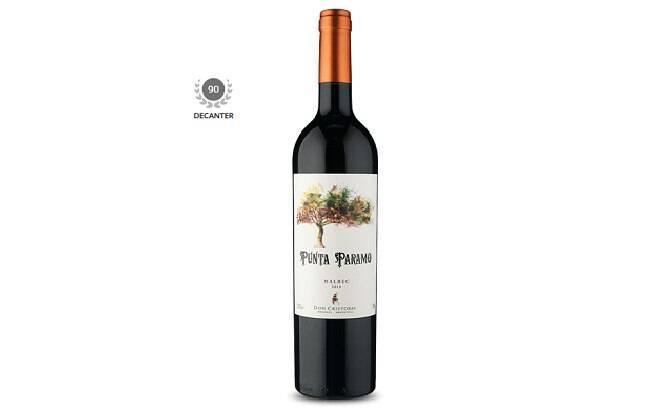 O vinho Punta Paramo é uma ótima opção de Malbec argetino