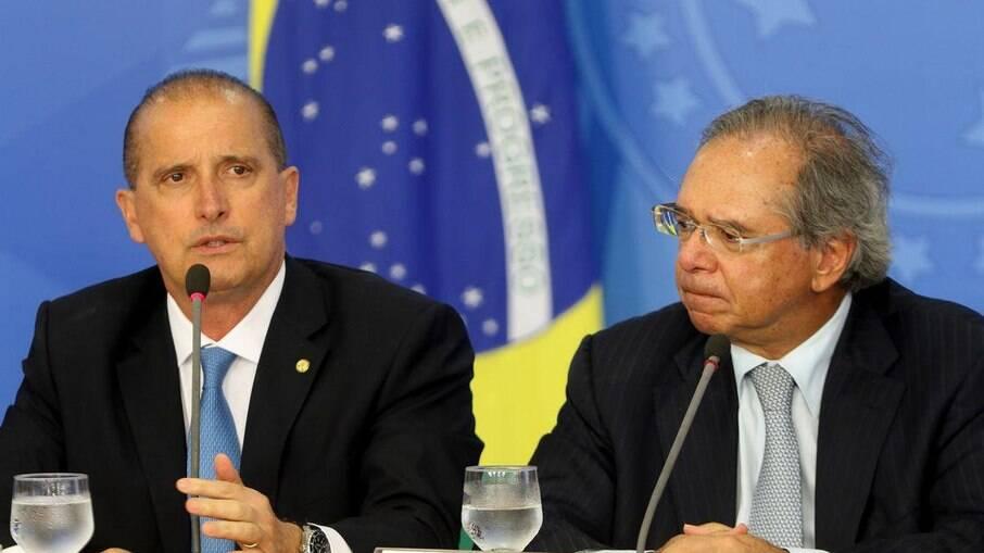FGTS fica com Onyx, mas Guedes quer barrar nomeações políticas