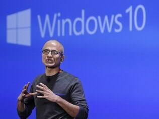 Satya Nadella, CEO da Microsoft, prometeu o Windows 10 para este ano