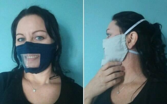 Britânia produziu mais de 10 mil máscaras para deficientes auditivos