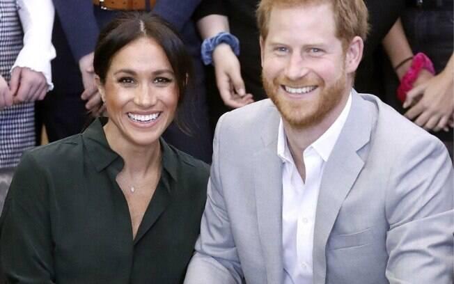Megahn Markle e príncipe Harry estão a espera do novo bebê Real