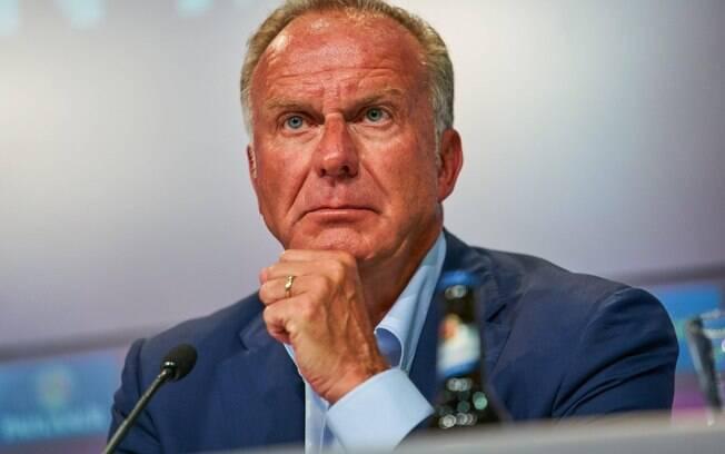 Karl-Heinz Rummenigge, presidente executivo do Bayern, acredita que, se alguém pode vencer o Real, esse alguém é o time bávaro