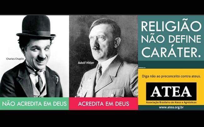 Uma das peças da campanha que acontece em Porto Alegre