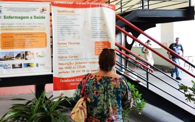 Ceprocamp abre mais de mil vagas de cursos profissionalizantes