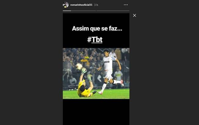 Ex-Corinthians, Romarinho provocou Palmeiras e relembrou final de 2012 da Libertadores contra o Boca: