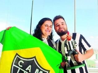Torcer pelo mesmo time é mais um elo entre Raphaella e Gustavo