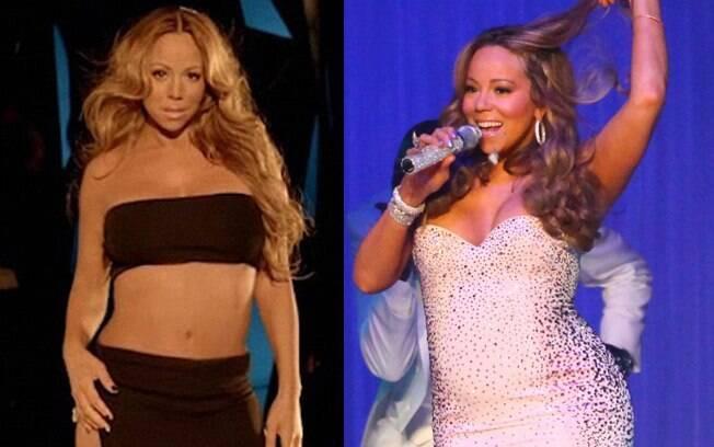 Mariah Carey em dezembro e junho de 2011