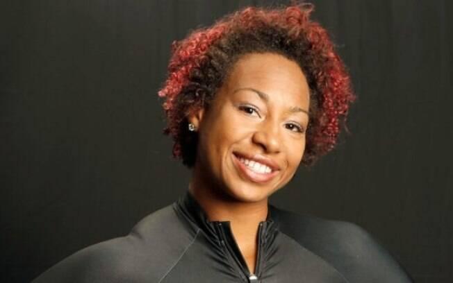 Jazmine Fenlator-Victorian, atleta da delegação da Jamaica